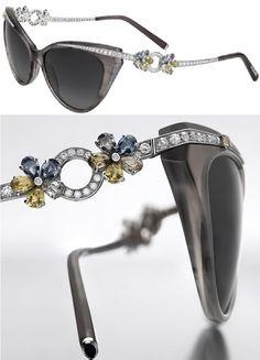 304cece271b Most  Expensive Sunglasses in the World  Some Costlier than a Ferrari   Bvlgari Flora Sunglasses -  59