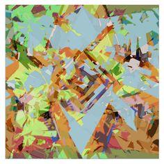 strange matter 40cm x 40 cm