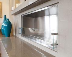 Luxurious Condo Living Room - contemporary - living room - toronto - by BiglarKinyan Design Partnership Inc. Basement Fireplace, Bioethanol Fireplace, Fireplace Design, Fireplace Ideas, Fireplaces, Condo Living Room, Living Rooms, Diy Furniture Restoration, Ethanol Fuel