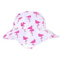 Toddler Girl Jumping Beans® Flamingo Sun Hat, Pink