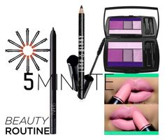 """""""5-Minute Beauty Routine"""" by coppin-s ❤ liked on Polyvore featuring beauty, Lancôme, NARS Cosmetics, Shiseido and Lord & Berry"""