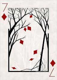 Playing card Playing card Playing card on Behance<br> Playing Card Crafts, Unique Playing Cards, Playing Cards Art, Custom Playing Cards, Vintage Playing Cards, Custom Cards, Playing Card Design, Playing Card Tattoos, Cartomancy