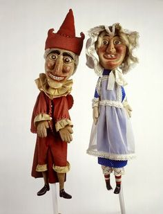 Punch and Judy hand puppets: 20th century, WHERE ARE YOU NOW?