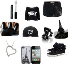 """Geek style :)"" by yana-karas ❤ liked on Polyvore"