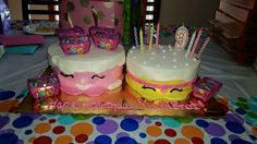 Shopkins Birthday Cakes, too cute!!!!