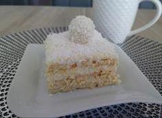 Ciasto Rafaello bez pieczenia Krispie Treats, Rice Krispies, Cheese, Food, Meal, Essen, Hoods, Rice Krispie Treats, Meals