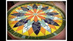 Mandala - Akbal Mosaico Artístico - YouTube