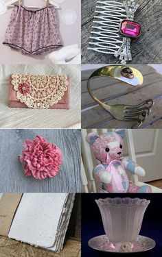 --Pinned with TreasuryPin.com My carnation brooch was featured in this treasury!