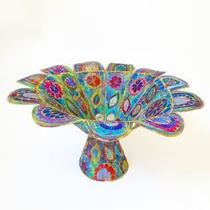 Textile Bowl from Sue Trevor on Folksy.com - stunning work at bargain prices!