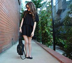 crop top over dress