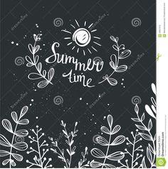 Image result for summer chalk