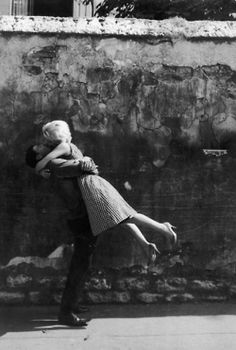 Just a Little Kiss Photo by Édouard Boubat (French, 1923-1999)