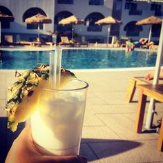 """""""Yes, I like pina coladas, especially when served poolside at Astro Palace Hotel & Suites!""""  A hearty thank you to our lovely guest Angela Tuazon at Instagram for sharing this refreshing pic!"""
