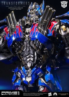 Prime 1 Studio MMTFM-07 Optimus Prime Knight Edition