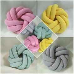 #Knot pillow #knot cushion