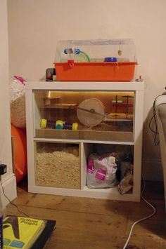 Ikea hack hamster cage
