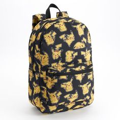 Pokemon Pikachu Toss Print Backpack