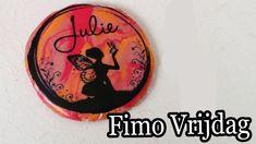 FIMO VRIJDAG #5, Foto op Fimo Klei hanger maken! W