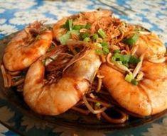 Garnalen In Ketjap-honing Marinade recept   Smulweb.nl Fish Recipes, Asian Recipes, Apple Benefits, Cholesterol Foods, Asian Kitchen, Good Food, Yummy Food, Asian Desserts, Different Recipes