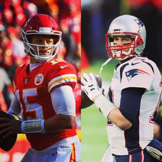 Fun fact: Sunday's Matchup between Tom Brady and Patrick Mahomes will set an NFL Walter Payton, Nfl Playoffs, Sports Figures, Tom Brady, England Patriots, Tampa Bay, Football Helmets, Fun Facts, Toms