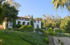 Italian Villa in Santa Barbara with over 7 Acres in the Hills over looking the Ocean. Beautiful!!