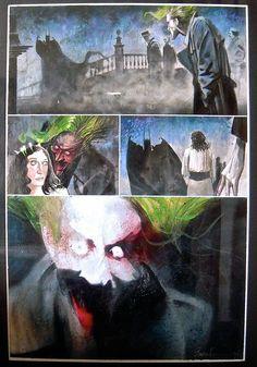 Dave Mckean Arkham Asylum Joker April Fools Page