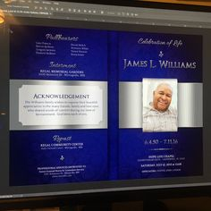 flourish funeral program template publisher is for a memorial or
