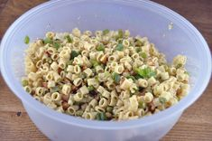 Pasta with Peas, Smoked Almonds and Dill | Wishes and Dishes