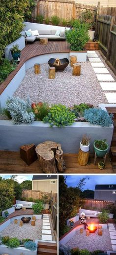 Outdoor Lounge, Outdoor Living, Outdoor Decor, Backyard Patio, Backyard Landscaping, Jardim Natural, Cool Fire Pits, Garden Design Plans, Path Design