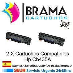 2 cartuchos hp cb435a solo 23,99€ IVA incluido