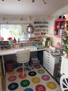 Related posts: 30 Awesome Craft Rooms Design Ideas 30 Awesome Craft Rooms Design Ideas Best Small Craft Room e Sewing Room Design Ideas On a Budget 25 Best Craft Room Design and Furniture Ideas by IKEA Sewing Room Design, Sewing Room Storage, Craft Room Design, Craft Room Decor, Sewing Room Organization, Craft Room Storage, Organizing Ideas, Storage Ideas, Sewing Studio