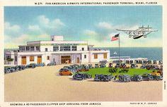1940's postcard. Hagins collection.