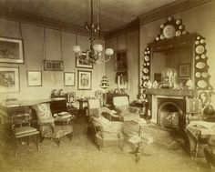"""Drawing room 1870's"""