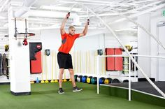 3. Jump Squat to Power Slam
