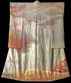 Twixt Autumn and Winter: Involution (1987) by the Late Japanese textile artist Itchiku Kubota(1917-2003)