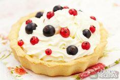 Cream fruit pie - Comida e Receitas