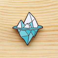 Arctic Series – Iceberg Brooch ($29)