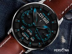 Samsung Gear S, Gear S3 Frontier, Face Design, Watch Faces, Smartwatch, Cool Watches, Color Splash, Persona, How To Look Better