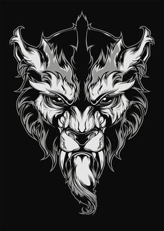 Lycanthrope Illustration on Behance