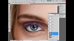 Maquiagem digital Passo-a-Passo   Tutorial Photoshop #03