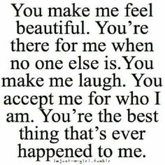 You Make Me Feel Beautiful
