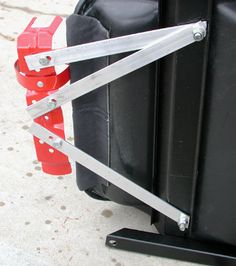The Bracketeer Universal Car Fire Extinguisher Bracket
