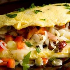 My Favorite Things: Cajun Omelette. Noting beats a good omelette! My fave is lardon and fines herbes! Brunch Recipes, Breakfast Recipes, Brunch Foods, Breakfast Ideas, Breakfast Dishes, Cooking Recipes, Healthy Recipes, Egg Recipes, Cajun Cooking