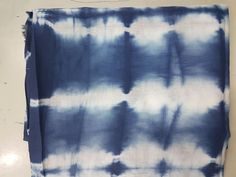 2.5 Yard. Hand-Dyed, Shibori, Cotton Fabric From India. Blue, Bandhani,Tie-Dye 5 #KhushiHandicraft
