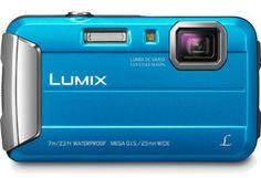 Panasonic Lumix MP Tough Digital Camera with Intelligent Zoom (Blue) by Panasonic - reallygreatstuffonline Top Digital Cameras, Best Digital Camera, Angles, Distancia Focal, Panasonic Camera, Still Camera, Fuji Camera, Camera Prices, Camera Shop