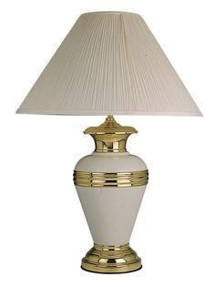 "L95100IV TABLE LAMPLike Lamp.DIMENSIONS:L95100IV | TABLE LAMP 20""L X 20""W X 30""H (1PC/CTN)"