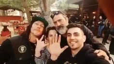 Norman Reedus & Jeffrey Dean Morgan with fans while filming #Ridewithnormanreedus S2 in Cataluna, Spain at La Cantera Bikerbar Bar  = @skrak #thewalkingdead #twd #thewalkingdeadseason7 #twdfamily #twdfinale #amc #walkingdead #rickgrimes #andrewlincoln #norman #normanreedus #daryl #dixon #michonne #chandler #chandlerriggs #carl #carlgrimes #carol #negan #lucille #maggie #glenn #love