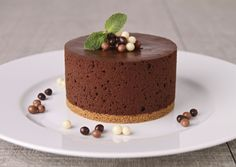 Mousse de chocolate sin nata