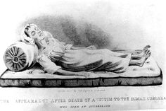 The first confirmed case of cholera in Britain occurred in September 1831.  Britain was invaded by four of the pandemics of cholera that had spread from Bengal since the early 19th century and suffered epidemics in 1831–1832, 1848–1849, 1853–1854 and 1866. Cholera was not as persistent or as frequent in its attacks as other infectious diseases but was remarkable for its high mortality rate and the speed at which it could kill.