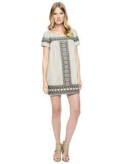 Bella Funk Boutique - Ella Moss Medina Shift Dress, $248.00 (http://www.bellafunkboutique.com/ella-moss-medina-shift-dress/)